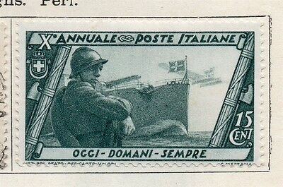 Italy 1932 Early Issue Fine Mint Hinged 15c. 091244