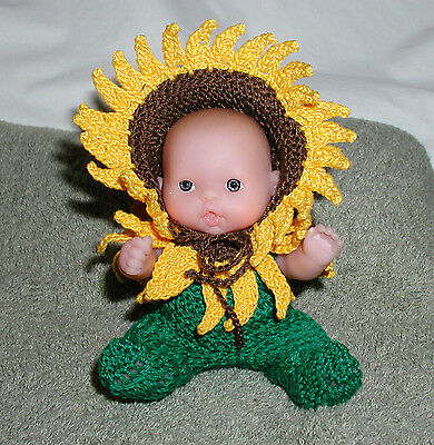 """Sunflower Itty Bitty Baby Fairy  -  5"""" Lots to Love Babies"""
