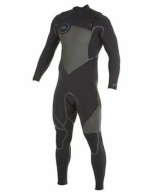 NEW QUIKSILVER™  Mens Syncro 3/2MM LFS Chest Zip Steamer Wetsuit Surf