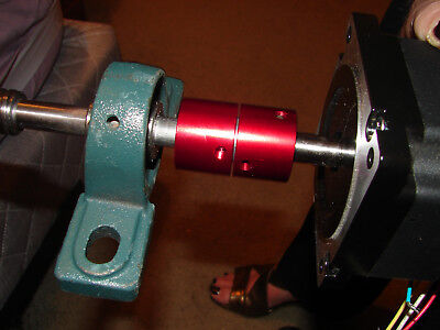 "Cnc Motor Coupling Specially Designed 4 Cnc For 1/2"" X 5/8"" Shafts Low Backlash"