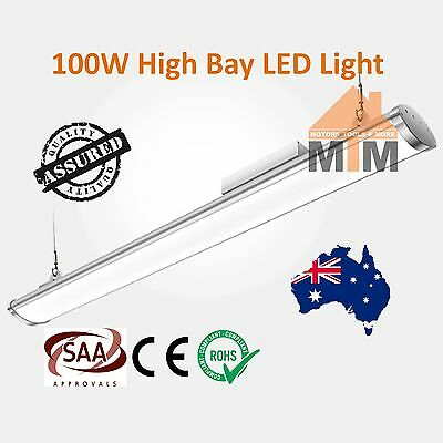 T100W LED Fluorescent Light Shop Warehouse Factory Commercial High Bay 100W