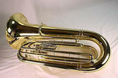 King 1140W 3/4 Size 3 Valve Top Action Tuba MINT DISPLAY MODEL QuinnTheEskimo