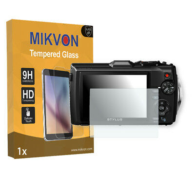 1x Mikvon Tempered Glass 9H for Olympus TG-4 Screen Protector Retail Package