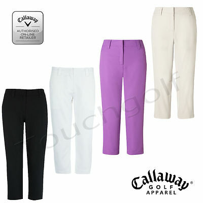 Callaway Women/Ladies Golf 3/4 Cropped Trousers Libby Capris - BFFB0213-New.
