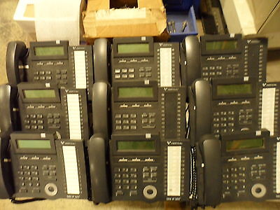 Lot of (9) Vertical SBX IP 320 Phones - Handset Included!