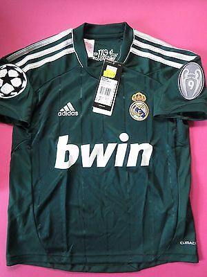 Bnwt Real Madrid 2013-14 Third Champions League Shirt Jersey Youth Boys Sizes