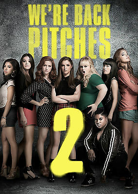 Pitch Perfect 2 (2015) - A1/A2 POSTER **BUY ANY 2 AND GET 1 FREE OFFER**