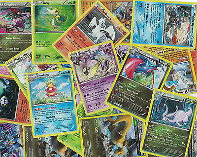 Lot of 10 HOLO Pokemon Cards Free shipping Shiny Foil Holographic