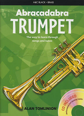 Abracadabra for Trumpet Sheet Music Book with CD Learn How To Play Method