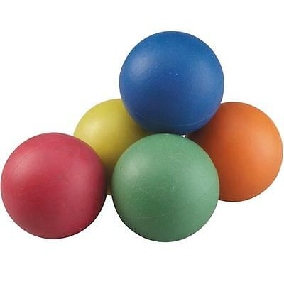 360 Athletics AHLP256 Rainbow Sponge Ball Set, 2.5 in. Set of 6