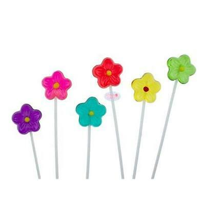 Sparko Sweets P9400Dsy Daisy Candy Lollipops, 1-pack with 120 Pieces