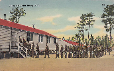 FORT BRAGG , North Carolina, PU-1942 ; Mess Hall