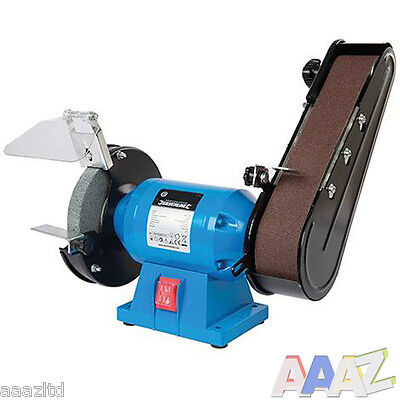 Silverline DIY 240W Bench Grinder & Belt Sander Workshop 3 year warranty