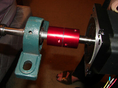 """Cnc Motor Coupling Specially Designed 4 Cnc For 1/4"""" X 1/4"""" Shafts Low Backlash"""