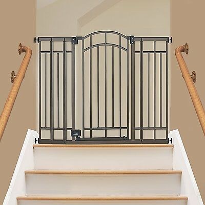 Summer Infant® Walk Thru Multi-Use Bronze Deco Extra Tall Baby Gate with Auto...