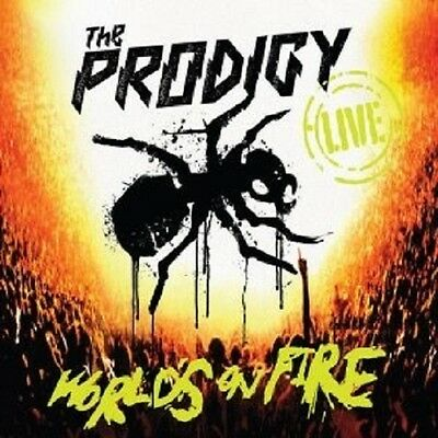 """The Prodigy """"Live The Worlds On Fire"""" Cd+Dvd New+"""