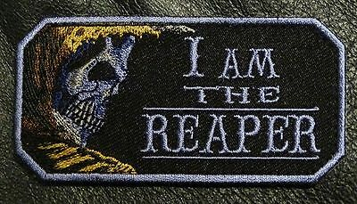 I Am The Reaper Tactical Morale Reaper Iron On Patch