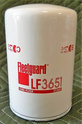 2-PACK FLEETGUARD LF3622, Lube Filter / X-Ref Wix 51833, Baldwin