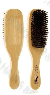 "Joy 100% Pure Boar Bristle Hair Brush 8"" Hard Wave Brush 1508 ** Large **"