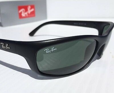 NEW* Ray Ban Predator RB 4115 601S/71 Matte Black Frame Gray Lens Sunglass $140
