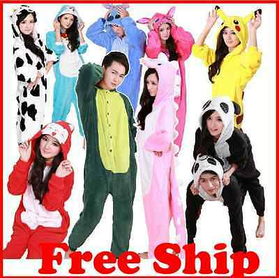 Sleepwear Unisex Adult Pajamas Kigurumi Cosplay Costume Halloween Animal Onesie