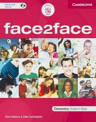face2face - Elementary Students Book / With CD-ROM: Level A1 and A2 - Chris Reds