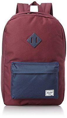 Herschel Classics Backpacks Sac à Dos Loisir, 46 cm, Windsor Wine/Navy PU NEUF