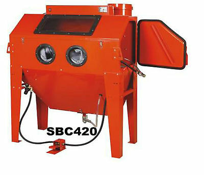 Industrial Sand Blast Cabinet Part No=  Sbc420