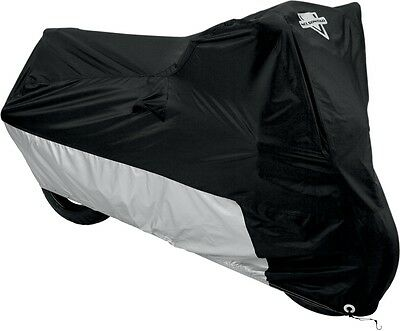 Nelson-Rigg MC-904 Deluxe All-Season Cover Large Black/Silver