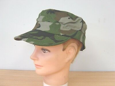 Camouflage Army Cap Hat Velcro Adjustable