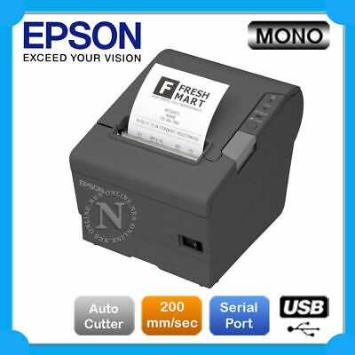Epson TM-T82II Bulit-in USB+Serial Port POS Thermal Receipt Printer [C31CD52342]