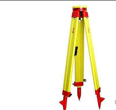 New Heavy LEICA Wooden Tripod for Survey Instrument Total Station Level M