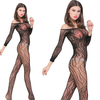 Sexy Plus Size Fishnet Thigh High Stockings Tights Hosiery Lingerie Adult Women