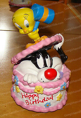 Sylvester & Tweety Happy Birthday (San Francisco Music Box, 50056) Looney Tunes