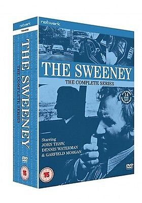 THE SWEENEY-  Complete Series 1-4    New & Sealed         Fast  Post