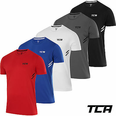 Men's TCA Laser Tech Lightweight Running Training Gym Fitness T shirt Top Jersey