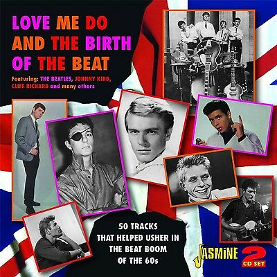 Love Me Do & The Birth Of 2 Cd New! The Beatles/cliff Richards/jackie Lynton