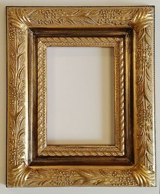 Picture Frame 5x7 Vintage Shabby Chic Antique Style Baroque Gold