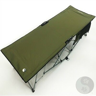 Turbo Quick & Easy Set Up Large Camp Deluxe One Person Camping Cot 20000