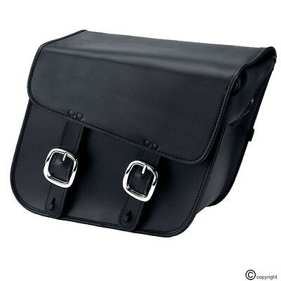 Universal Motorcycle Motorbike Leather Saddle Bags Panniers