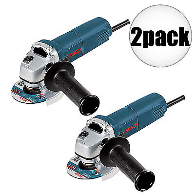 "Bosch Tools 2pk 4-1/2"" Slim Angle Grinder 1375A New"