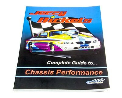 Chassis Eng. (Drag Race) Jerry Bickels Chassis Book Book Part Number 7501