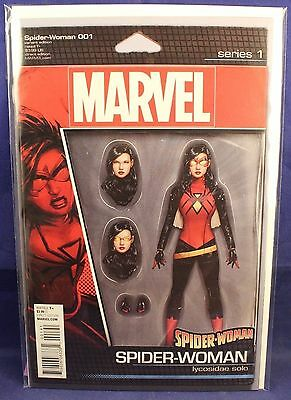 Marvel Comics Spider-Woman 001 #1 Action Figure Cover Variant