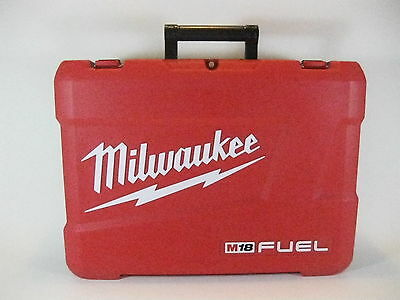 Tool Case Milwaulkee Plastic for M18 Fuel 2791-22CT 2-Tool Combo Kit ( Empty )