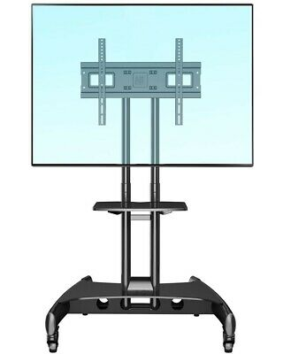 """NEW Mobile TV Stand AVA1500-60-1P Height-adjustable (40""""-60"""" screens up to 45kg)"""