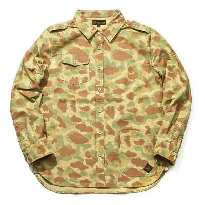 Grizzly Griptape GCC Long Sleeve Button Down Shirt Camo