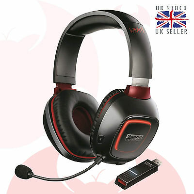 Creative Sound Blaster Tactic3D Wrath Wireless Gaming Headset with SBX Sound UK