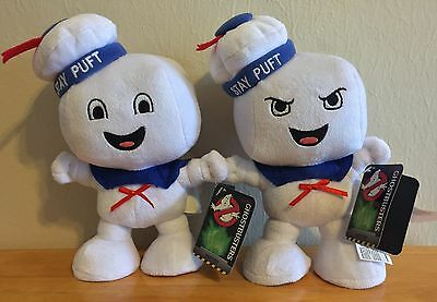 Ghostbusters Stay Puft Marshmallow Man - Happy & Angry - Medium Soft Toy Plush