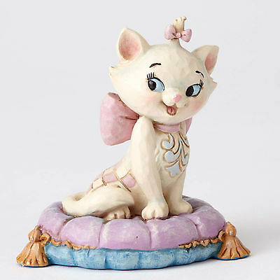 Jim Shore Disney Traditions Mini Miniature Marie on a Pillow 4054288 Aristocats