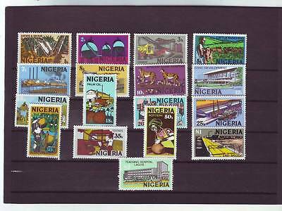 a119 - NIGERIA - SG290-306 MNH 1973 DEFINITIVES 1k-2n - FULL SET